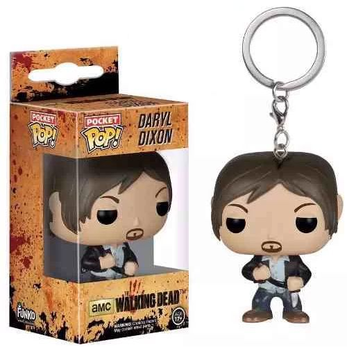 Daryl Dixon Chaveiro The Walking Dead - Funko Pop Pocket