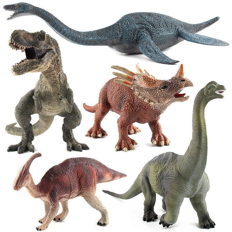 Dinossauro Borracha Grande Varios Modelos Brinquedo