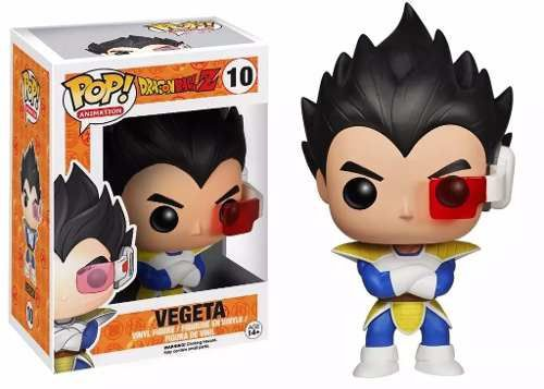 Dragon Ball Z - Vegeta Boneco Pop Animation Funko 10cm