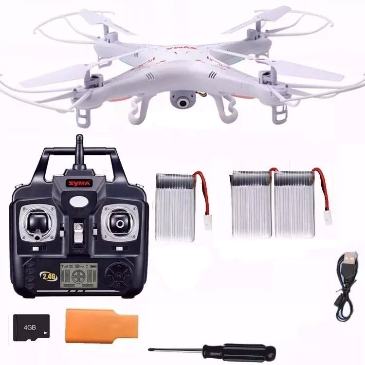 Drone Syma X5c-1 Camera Hd 4ch 6 Axis Gyro Pronta Entrega