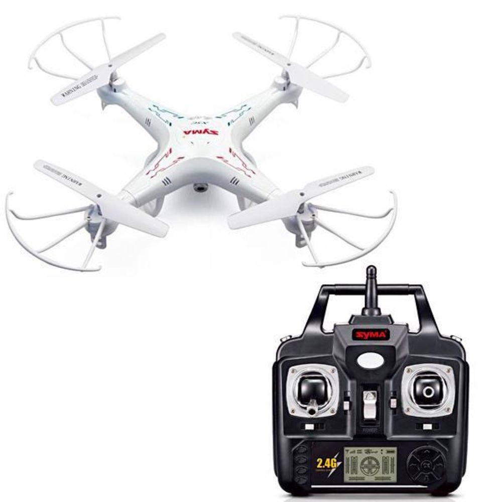 Drone Syma X5c-1 Upgraded 6 Eixos/Bateria 500mah/3.7v - Branco