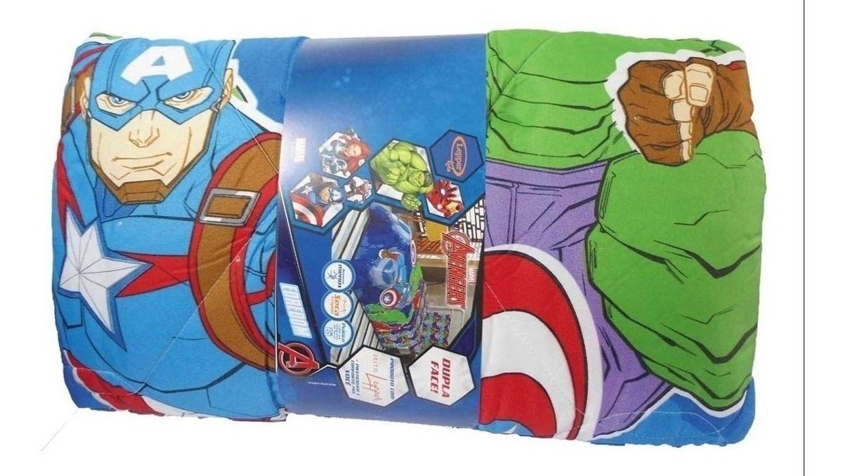 Edredom Super Heróis Marvel Vingadores Lepper Avengers