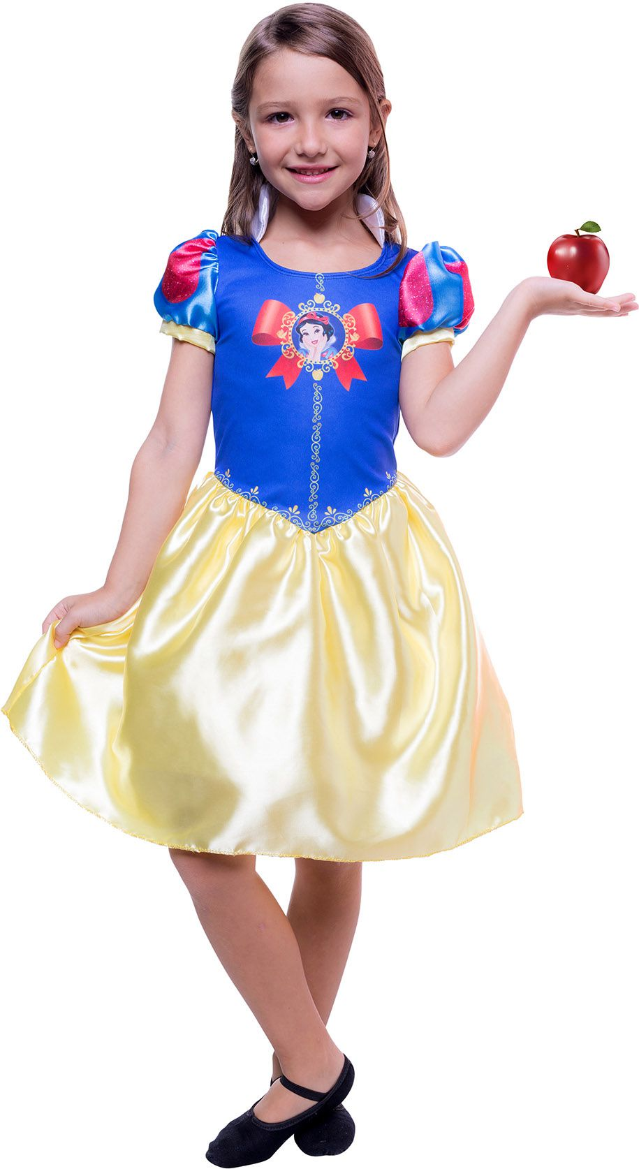 45b0bfd78 Fantasia Branca de Neve Infantil Princesas Disney - SUPER25