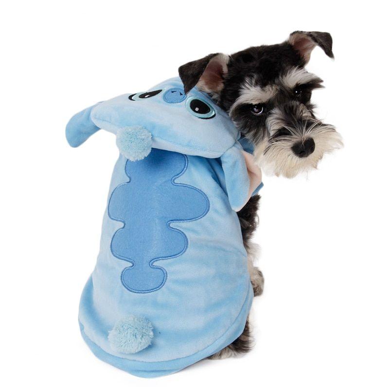 Fantasia - Casaco - Roupa Stitch - Inverno - Cães E Gatos