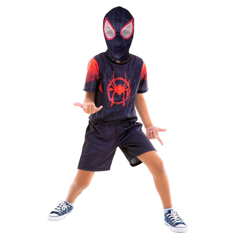 Fantasia Homem Aranha No Aranhaverso / Spiderman Infantil Curta Filme