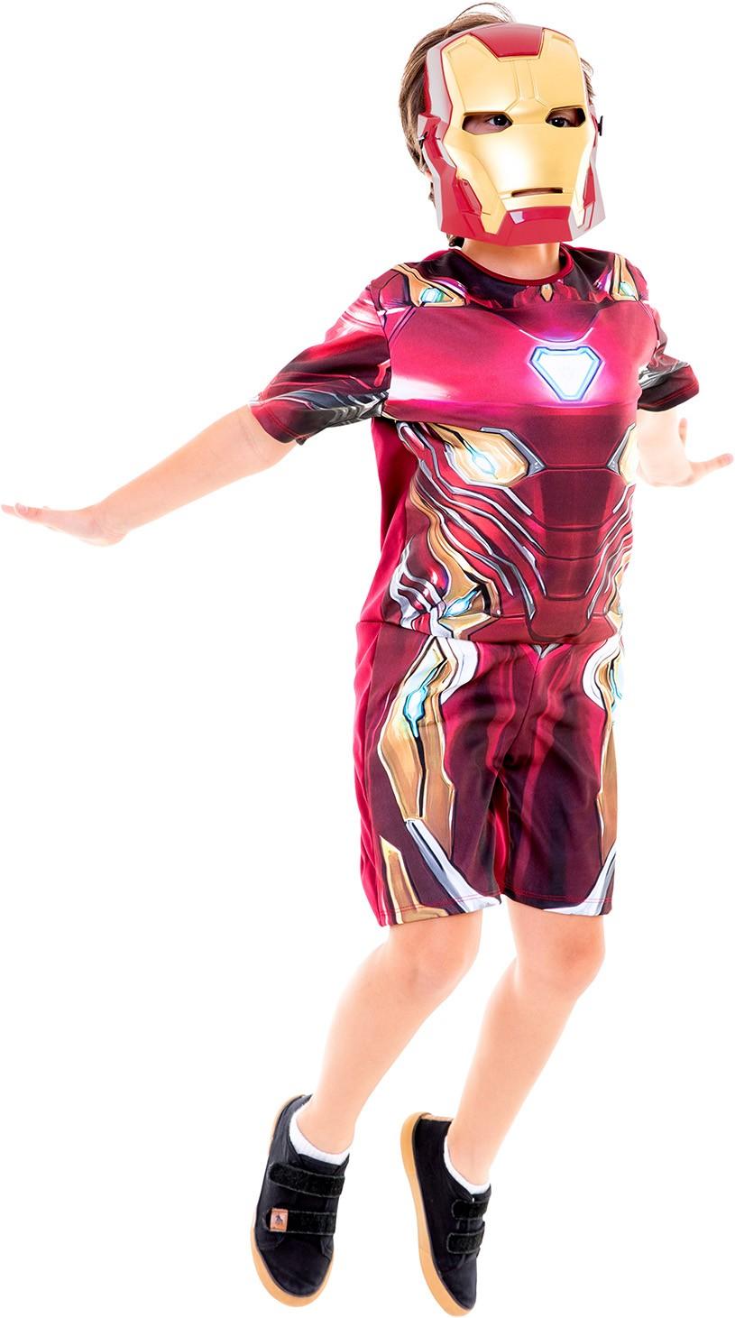 Fantasia Homem De Ferro Curta - Vingadores Guerra Infinita