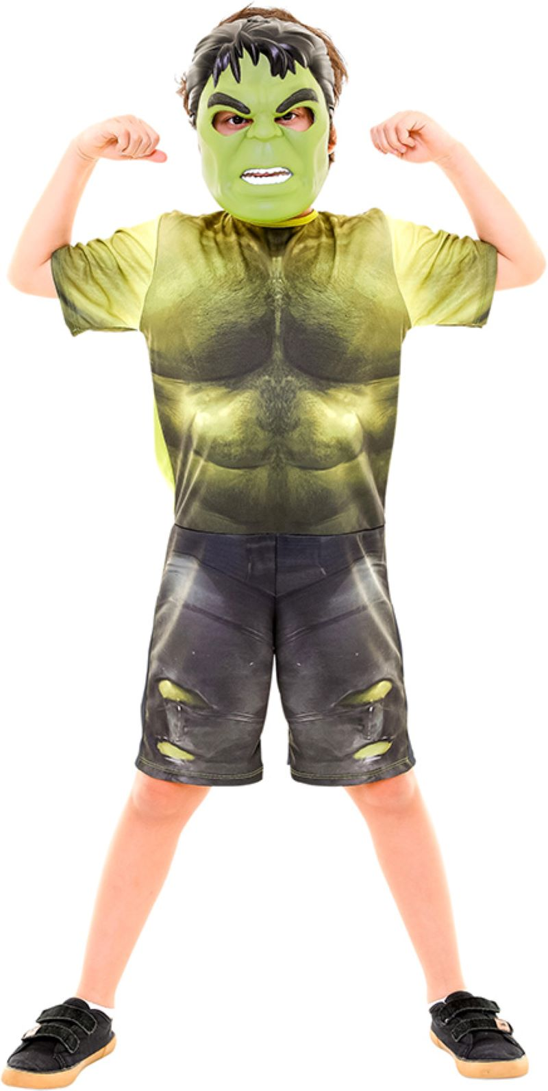 Fantasia Hulk Curta Infantil Filme Guerra Infinita Original