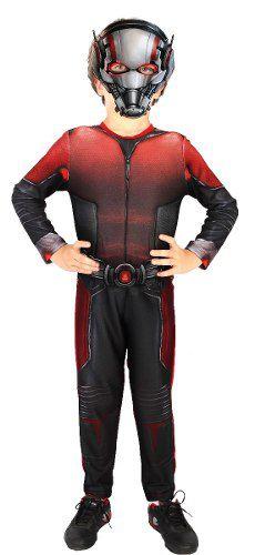 Fantasia Infantil Ant-man Homem-formiga Longa Original DUPL