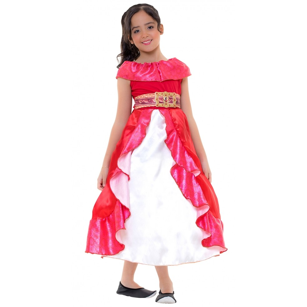 Fantasia Infantil Elena De Avalor Clássica Princesas Disney