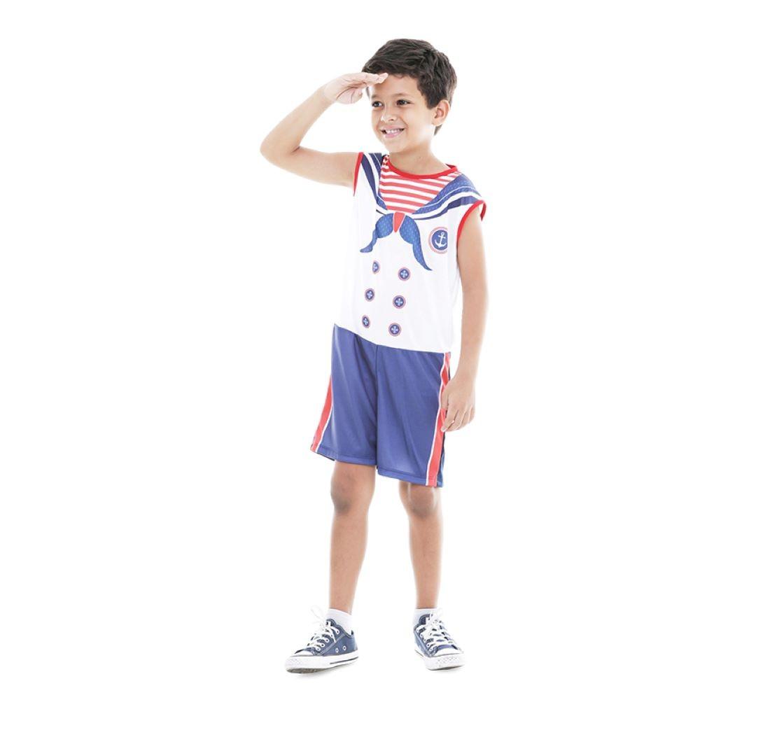 Fantasia Infantil Marinheiro Infantil Carnaval