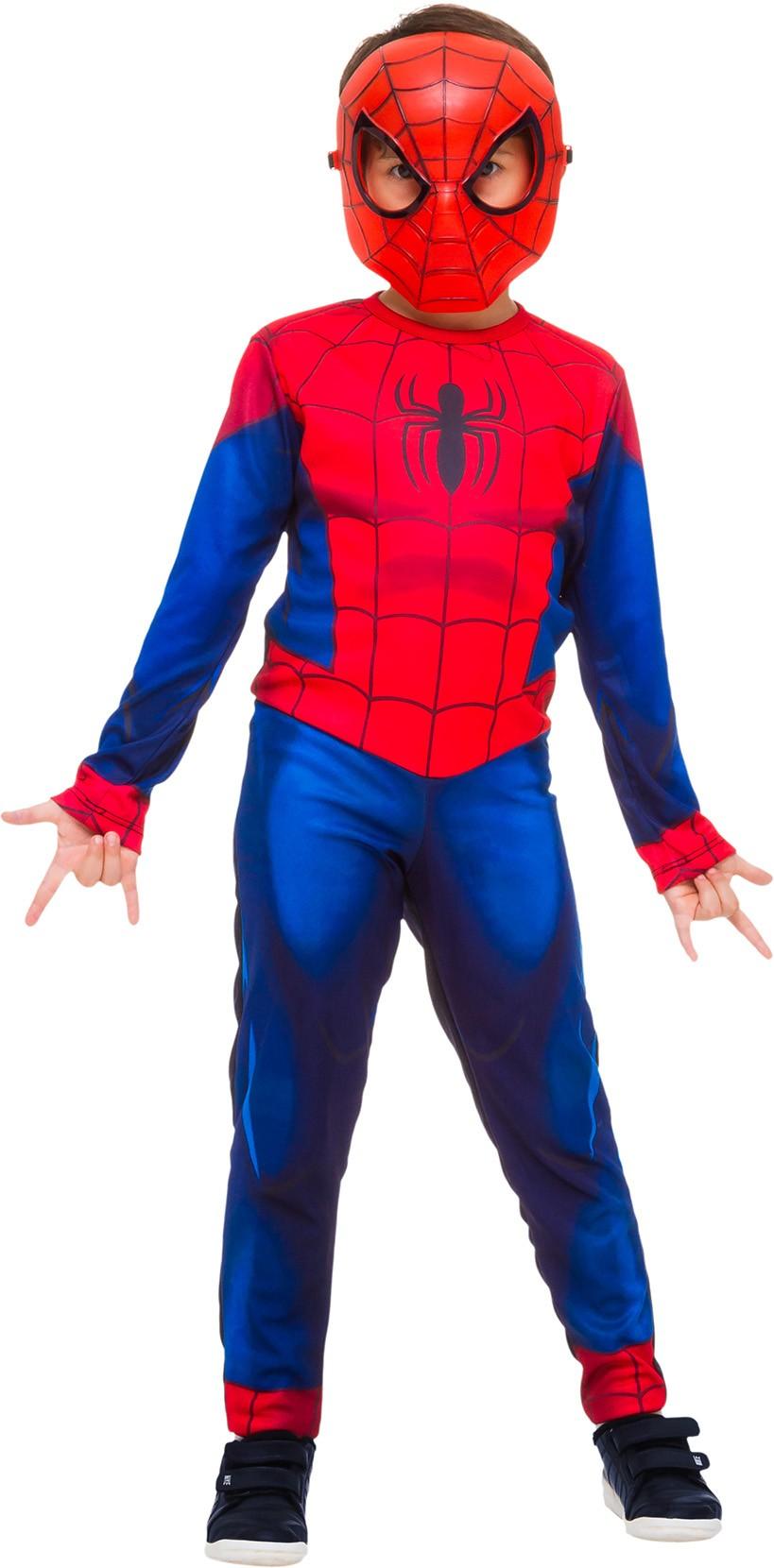 Fantasia Infantil Super Herói Homem Aranha Longa Vingadores