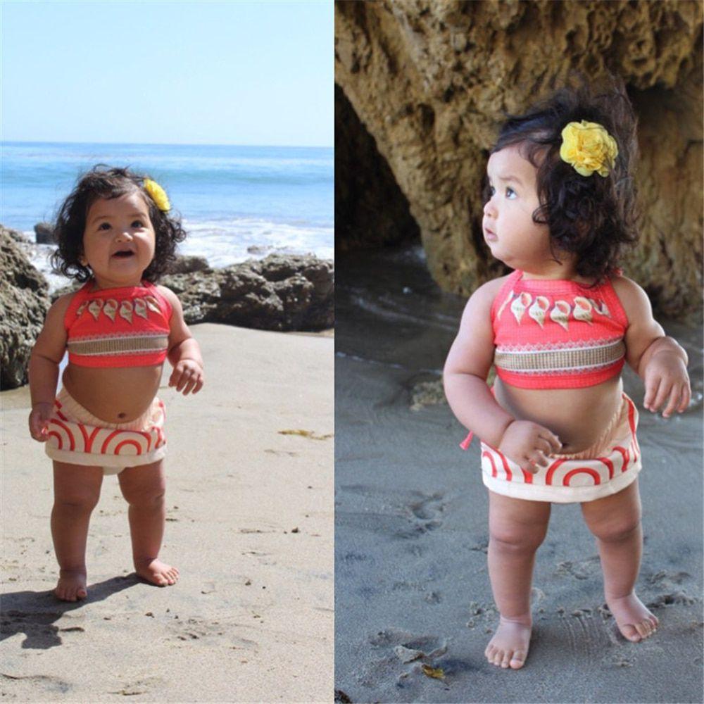 Fantasia Moana Clássica Baby Disney Bebê Pronta Entrega