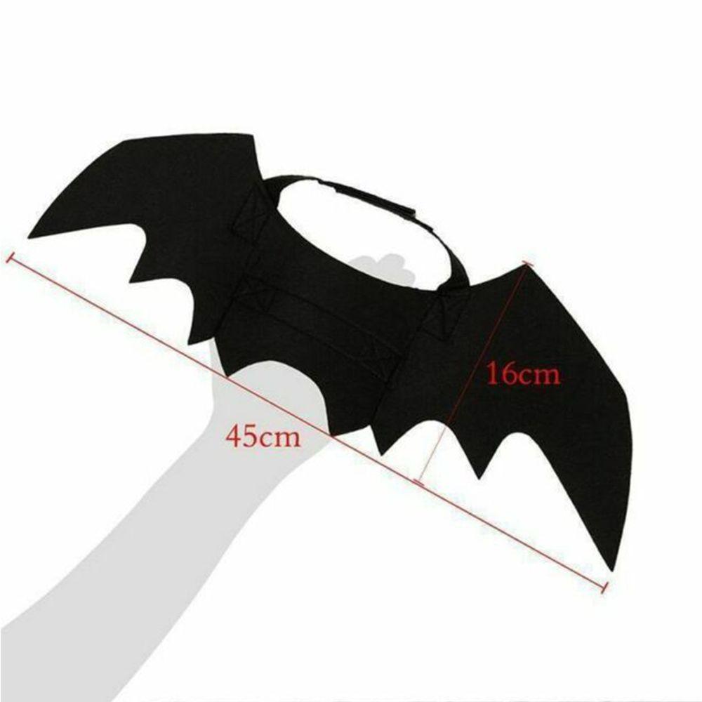 Fantasia Morcego PET Cachorro Cão Gato Halloween Dia das Bruxas Carnaval