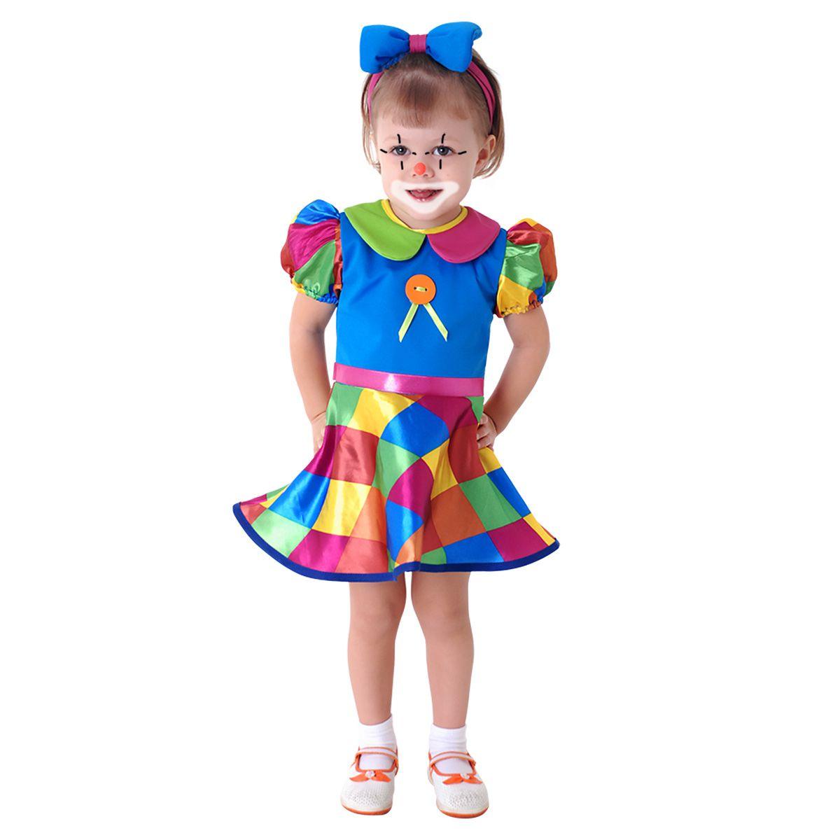 Fantasia Palhacinha(baby) Sulamericana Carnaval
