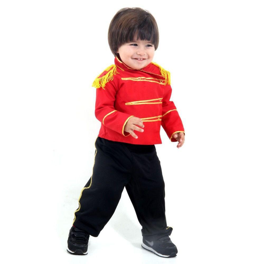 Fantasia Soldadinho De Chumbo Bebê De 1 Ano Cartola