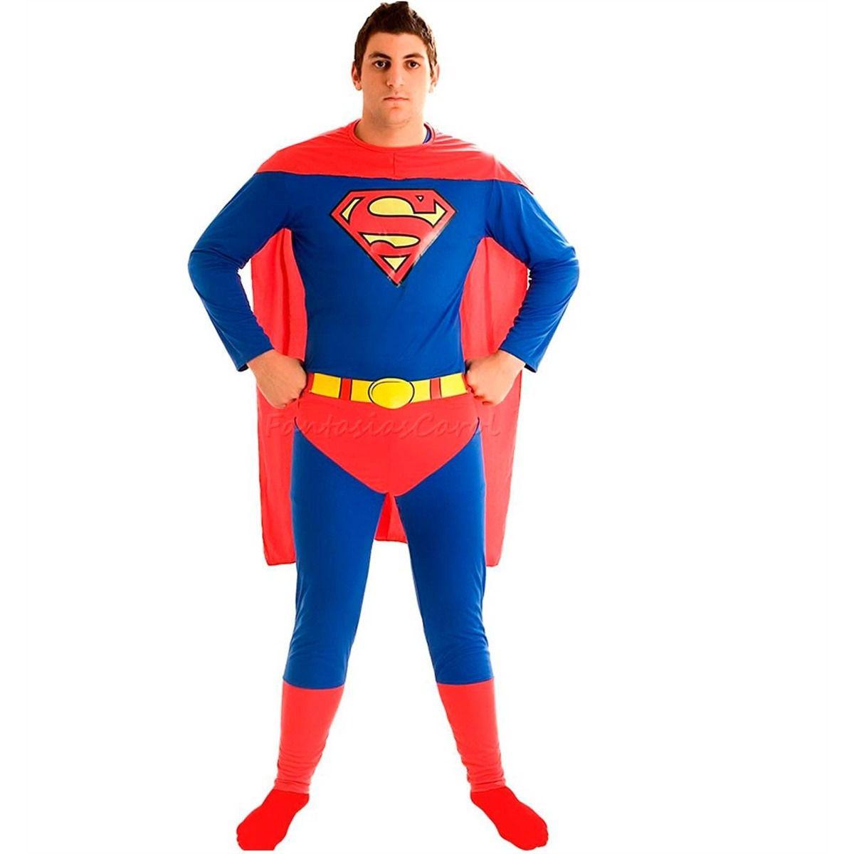 Fantasia Super Homem / Superman Adulto Sulamericana
