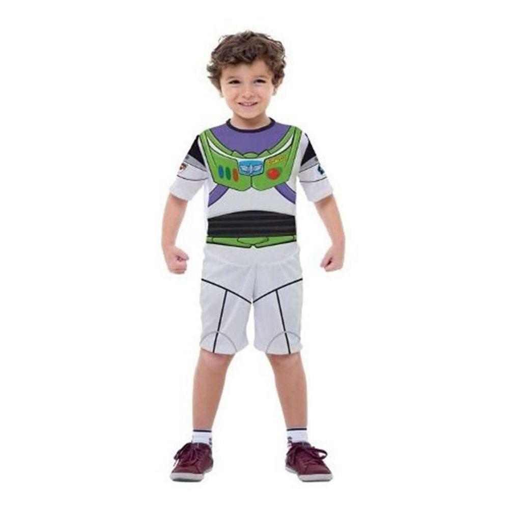 Fantasia Toy Story Buzz Lightyear Infantil S/ Mascara Curto