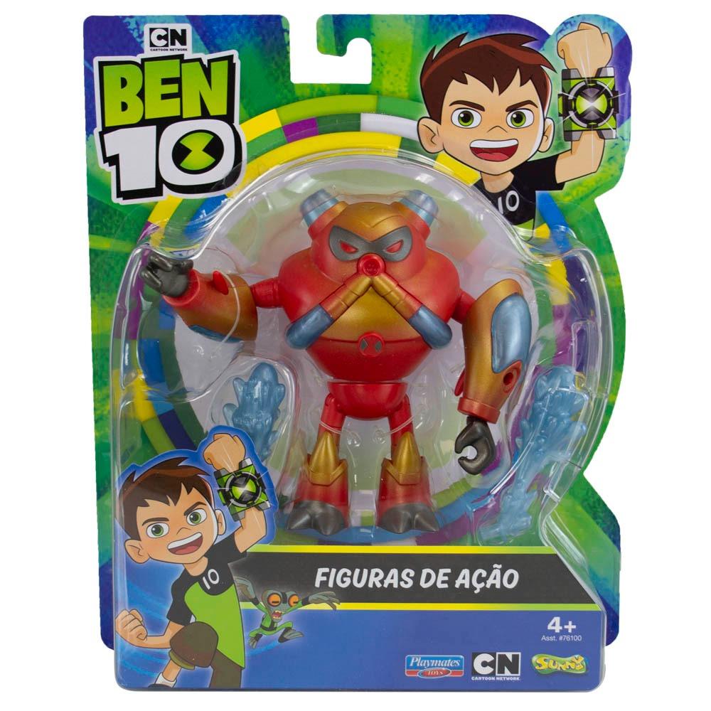 Figuras De Ação Ben 10 - Enxurrada - Original Sunny 02