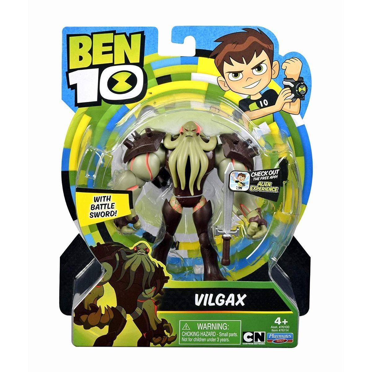 Figuras De Ação Ben 10 - Vilgax - Original Sunny