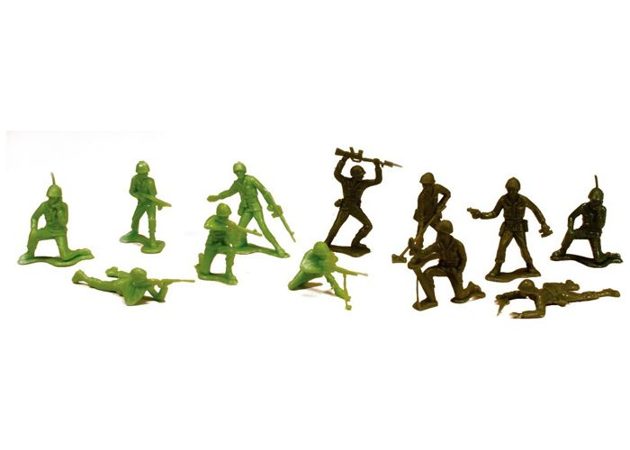 Figuras Heróis De Guerra - Soldados Americanos