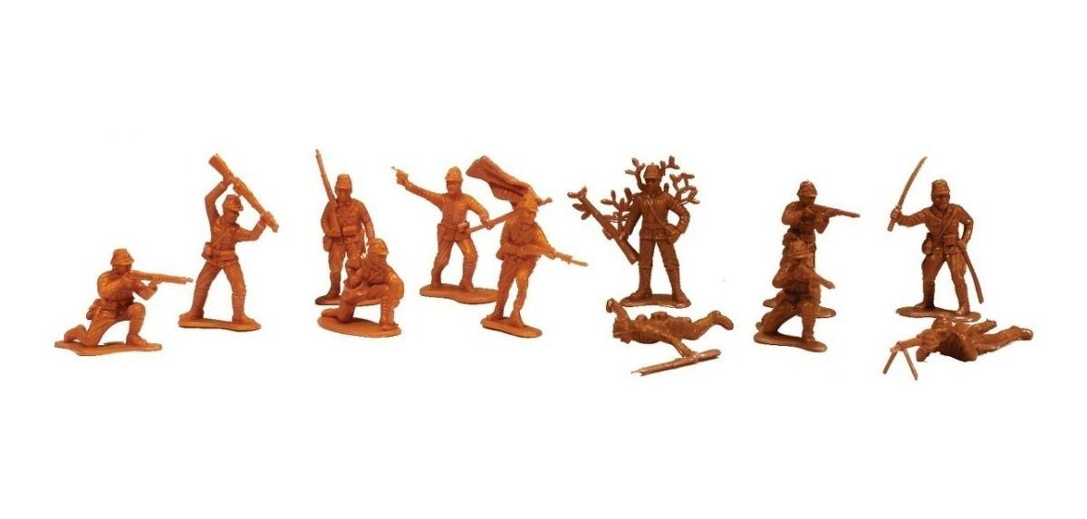 Figuras Heróis De Guerra - Soldados Japoneses