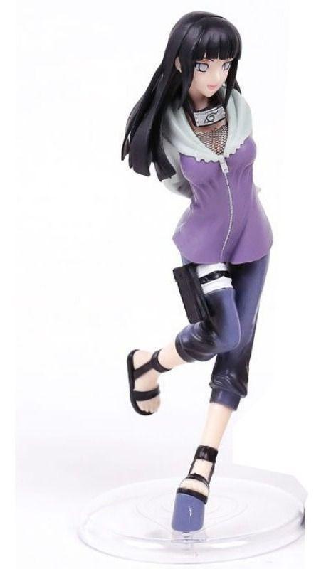 Figure Action Boneco Hinata Hyuga 20cm Naruto Pronta Entrega