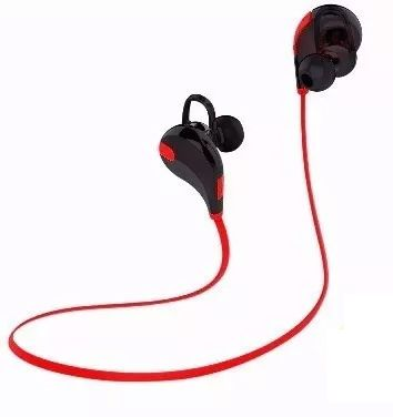 Fone Ouvido Headset Bluetooth Universal Celular Lc-777 Sem Fio Esporte Corrida BOAS Vermelho