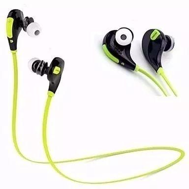 Fone Ouvido Headset Bluetooth Universal Celular Lc-777 Sem Fio Esporte Corrida BOAS X Trad Verde