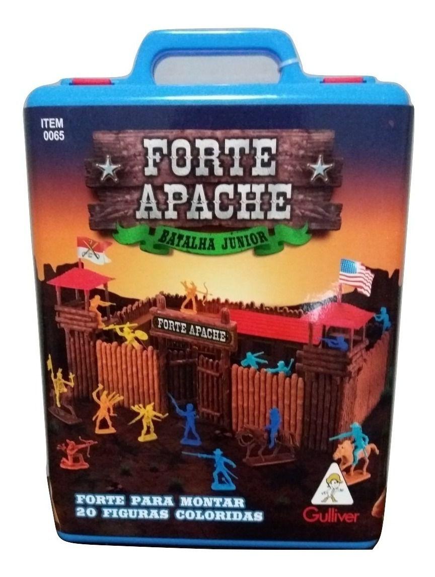 Forte Apache Gulliver Junior Figuras Pintadas