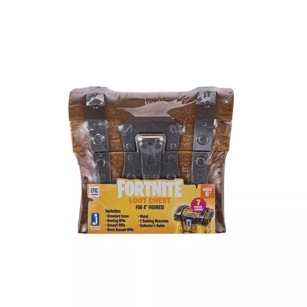 Fortnite Baú Com Acessórios Original Jazwares Sunny