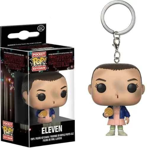 Funko Pop! Chaveiro Keychain Stranger Things - Eleven With E
