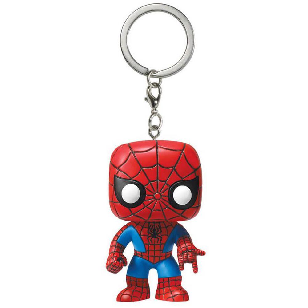 Funko Pop Homem Aranha Chaveiro Spider Man Pronta Entrega