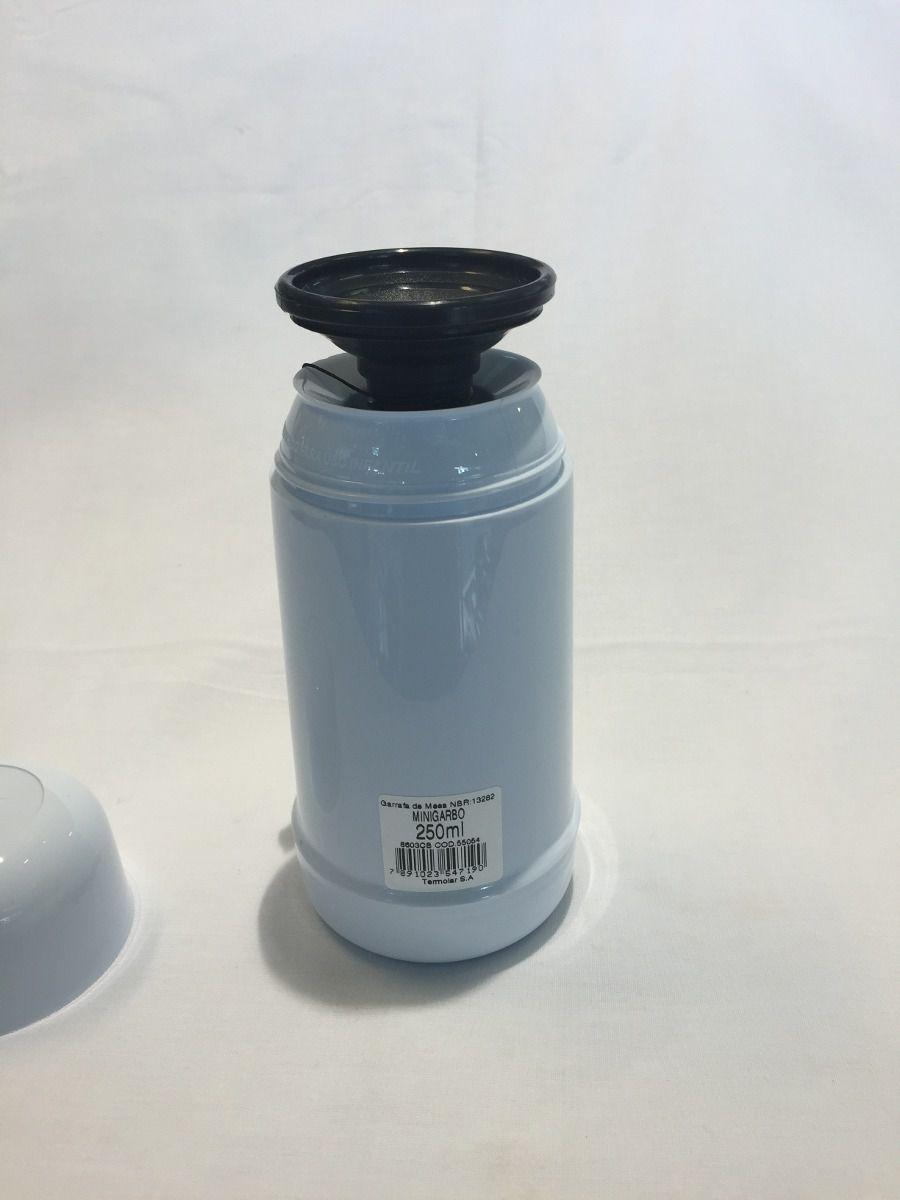 Garrafa Térmica 0,250 Ml Mini Garbo Branca- Termolar