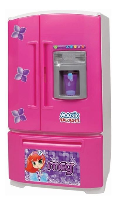 Geladeira Infantil Inverse Sai Água Na Porta 8053 Magic Toys