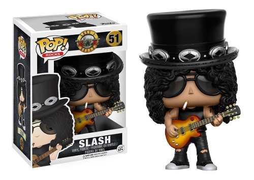 Guns'n Roses Boneco Pop Funko Slash #51 Original Funko