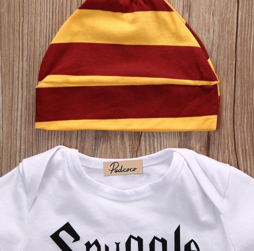 Harry Potter Roupinha De Bebe Kit Com Body, Calca E Touca