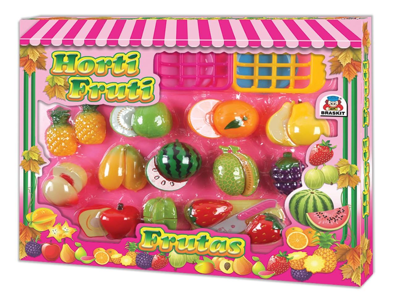 Horti Fruti Frutas Comidinha Crec Crec Infantil