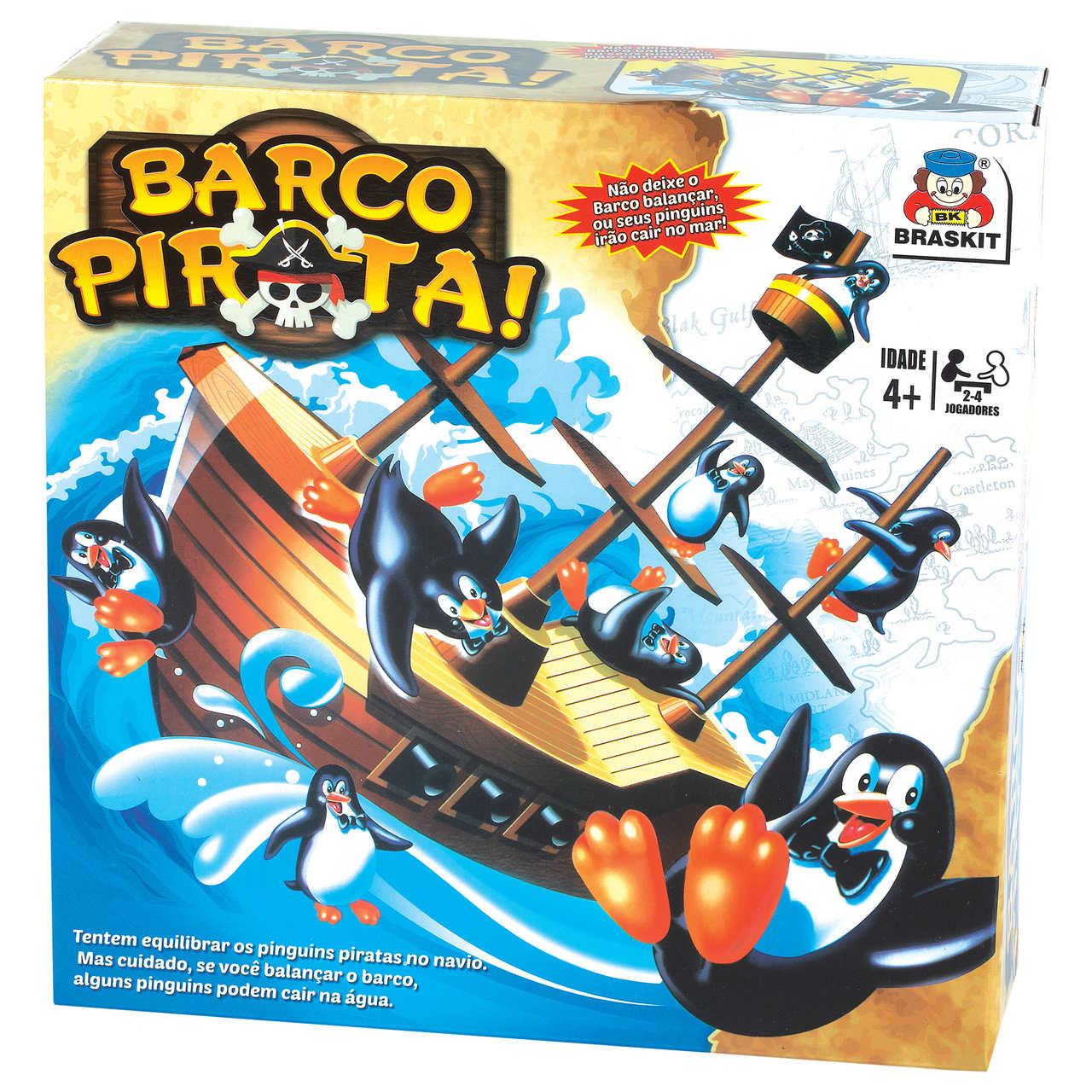 Jogo Barco Pirata 070-5 - Braskit