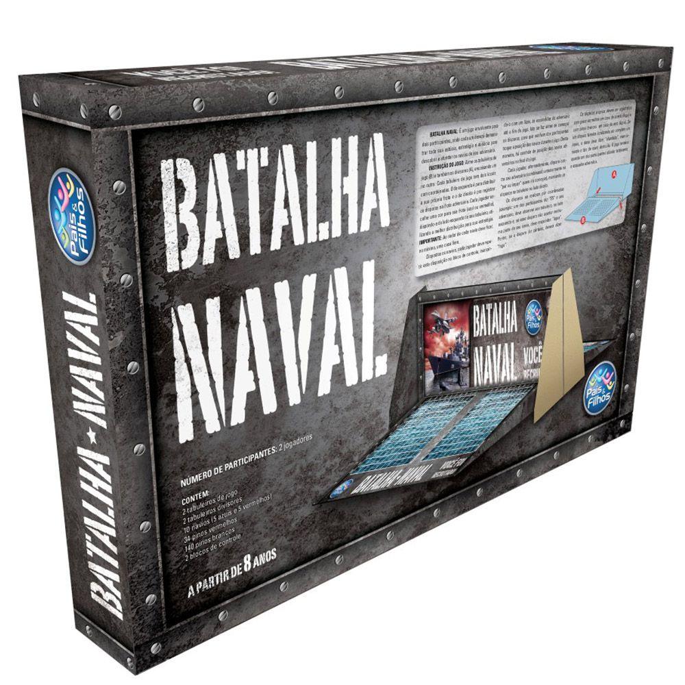 Jogo Batalha Naval - Pais & Filhos