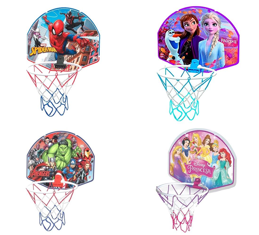 Jogo De Basquete Vingadores Homem Aranha Frozen Princesas - Vingadores