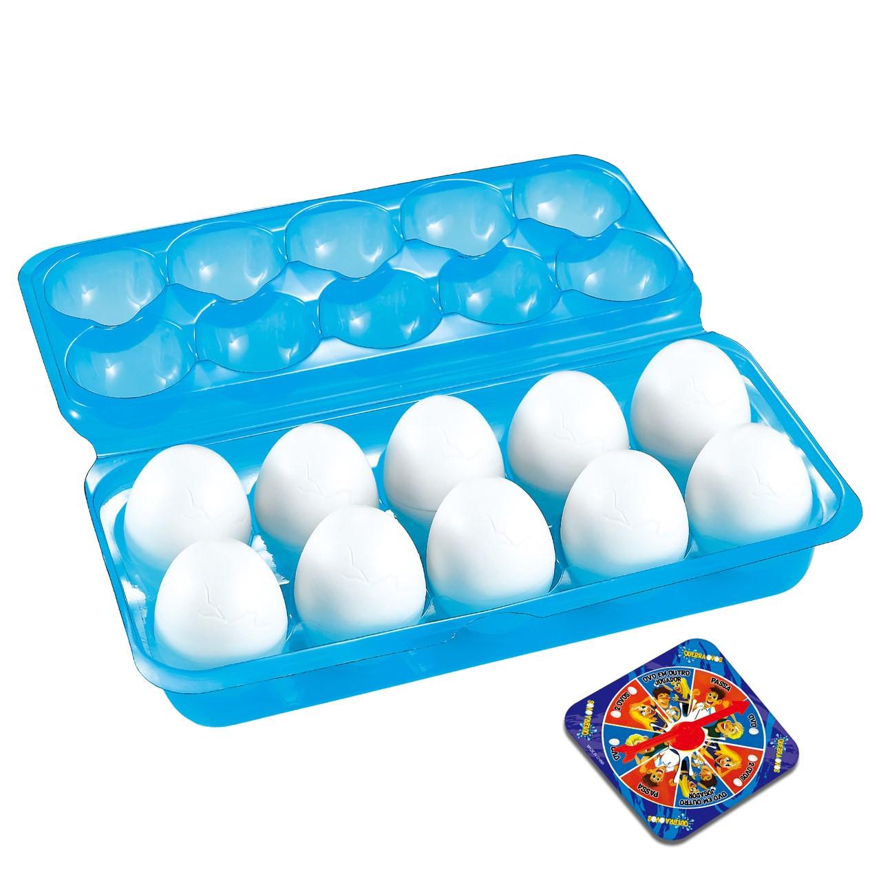 Jogo Quebra Ovos 070-6 - Braskit