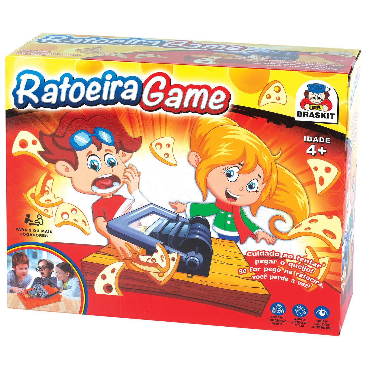 Jogo Ratoeira Game - Braskit Braskit