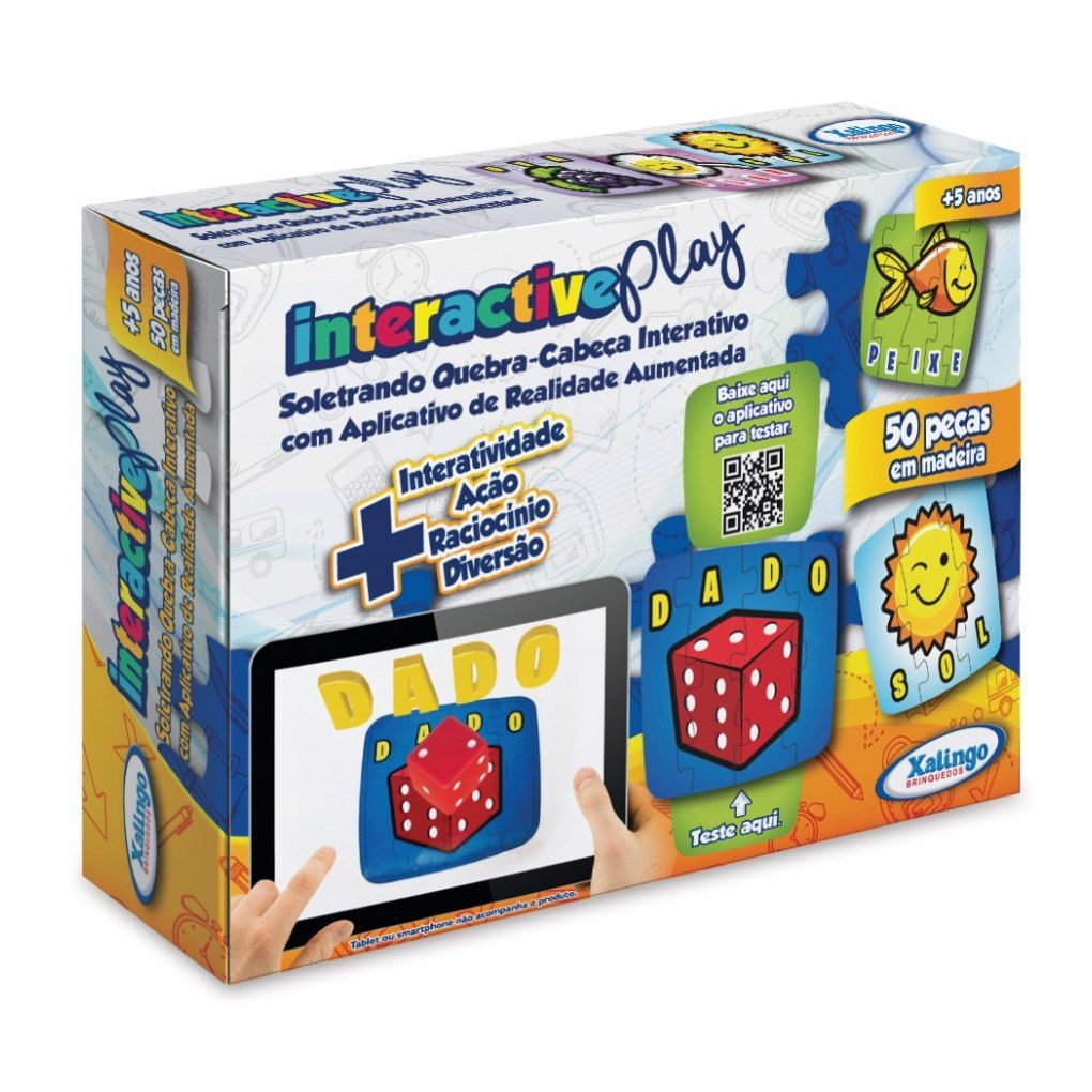 Jogos Educativo Interactive Play Soletrando- 53109 Xalingo