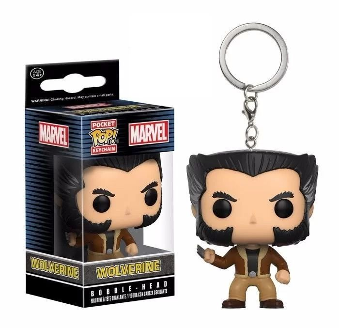 Keychain Funko Pocket Pop! Marvel X-men Wolverine