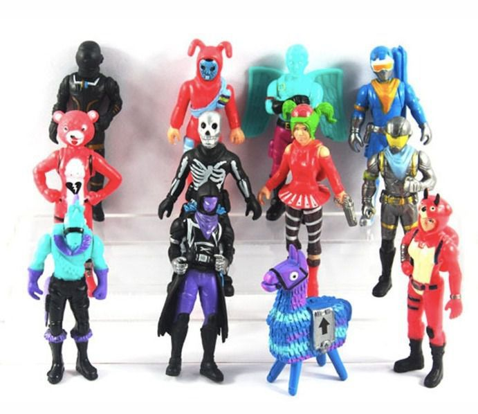 Kit Action Figure Fortnite 12 Bonecos Pronta Entrega