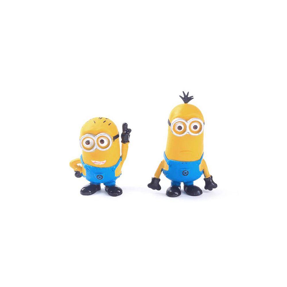 Kit Action Figure Minions Meu Malvado Favorito Conjunto Bonecos