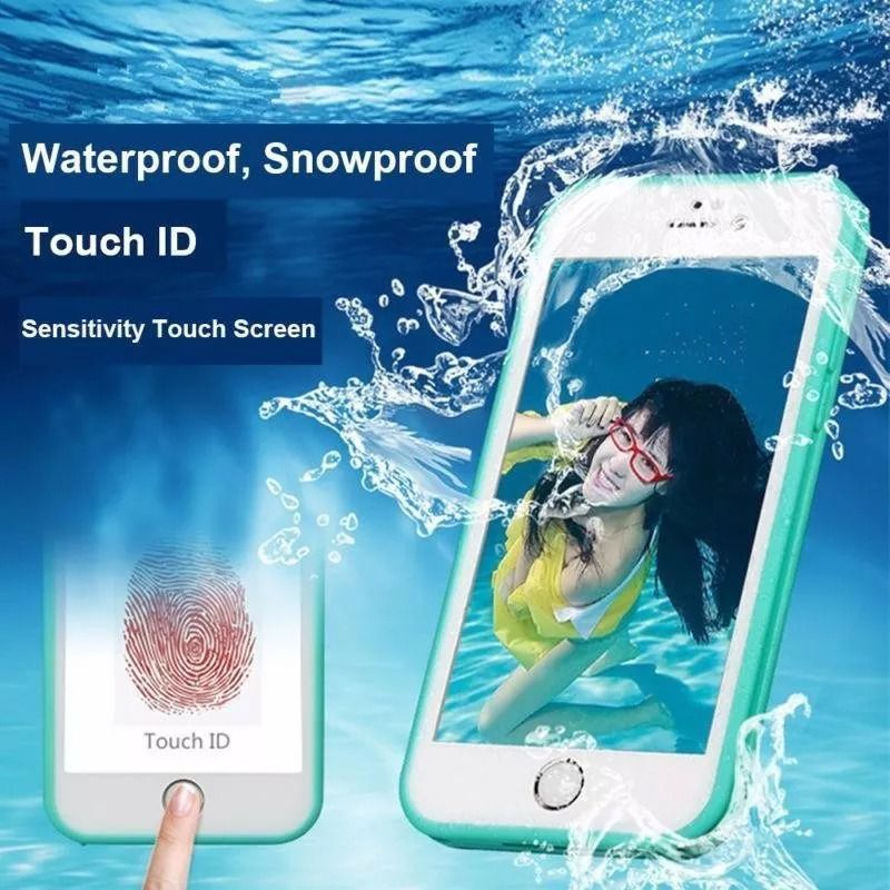 Kit Capinha Case Capa Prova Dágua Waterproof Iphone X
