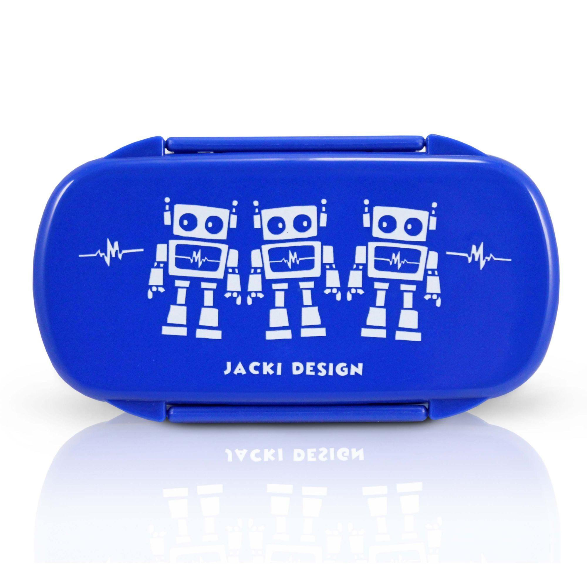 Kit Lancheira Térmica + Pote + Squeeze Jacki Design Infantil