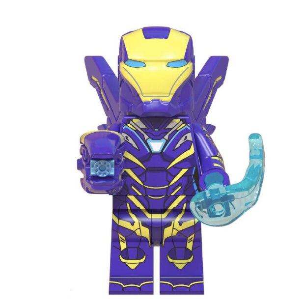 Kit Lego Vingadores Ultimato Endgame Homem Aranha Ferro Thor Hulk Thanos