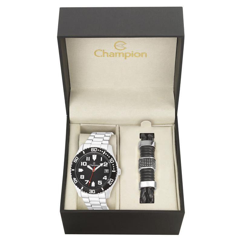 Kit Relógio Champion Feminino Passion - Ca31364c